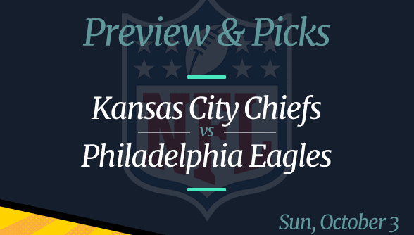 Chiefs vs Eagles NFL Week 4 Odds, Time and Prediction