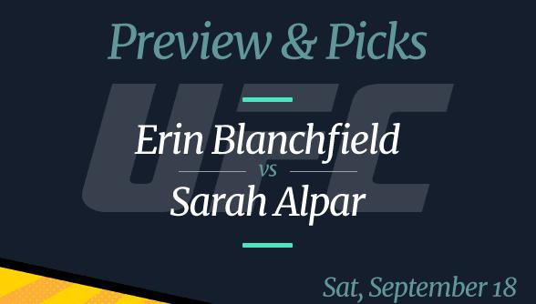 Erin Blanchfield vs Sarah Alpar, Picks, Time and Where to Watch