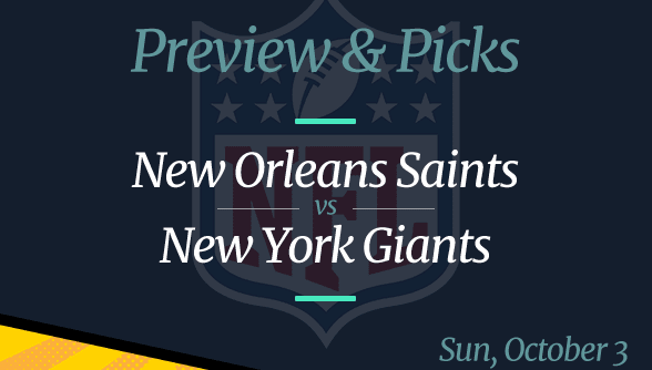 Giants vs Saints NFL Week 4 Odds, Time, and Prediction