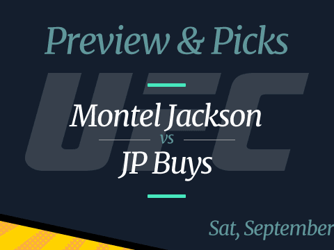 Montel Jackson vs JP Buys Odds, Picks, Time and Where to Watch