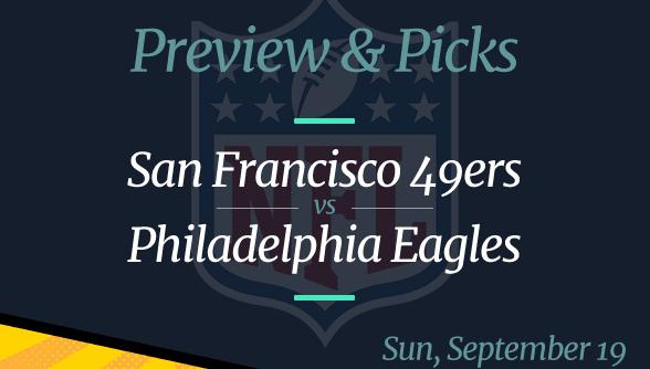 NFL Week 2: 49ers vs Eagles, Time, Odds
