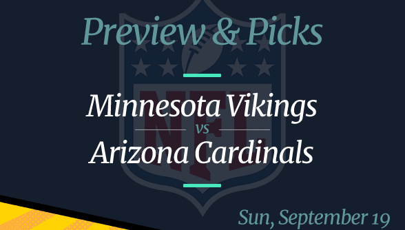 NFL Week 2: Vikings vs Cardinals, Time, Odds