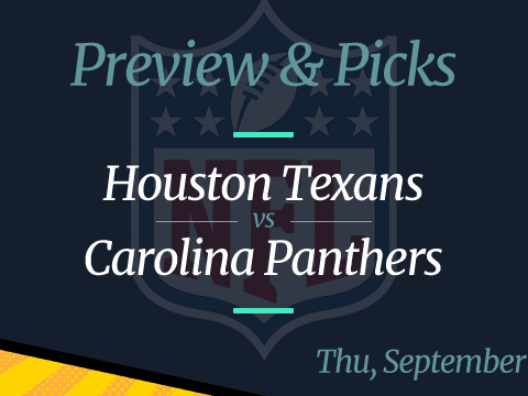 NFL Week 3: Panthers vs Texans, Time, Odds
