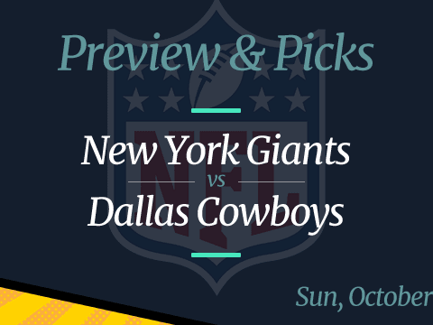Giants vs Cowboys NFL Week 5 Odds, Time, and Prediction